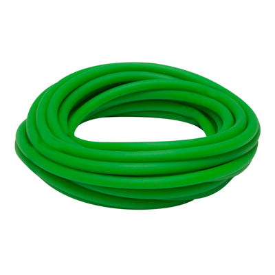 Latex Free Exercise Tubing - 25' roll - Green - medium