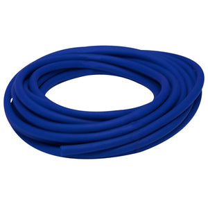 Latex Free Exercise Tubing - 25' roll - Blue - heavy