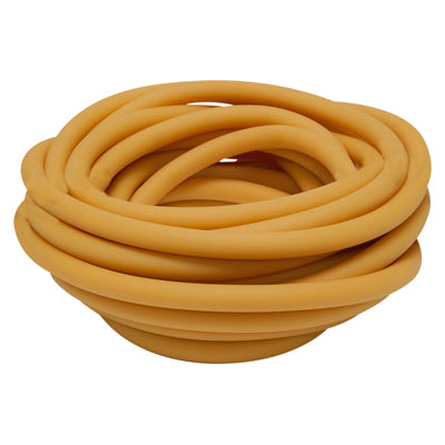 Latex Free Exercise Tubing - 25' roll - Gold - xxx-heavy