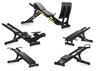 ELEVATE Circuit; 5-piece; Includes Jump, Pull-Up, Press, Row ADJ and Core ADJ