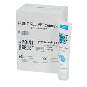 ColdSpot gel tube w/hands-free applicator