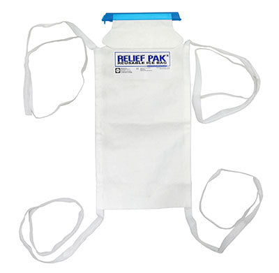 Large ice bag with tie-strings