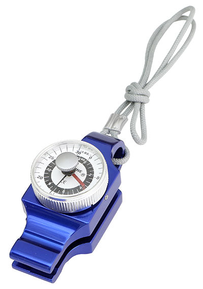 Pinch gauge with case, blue