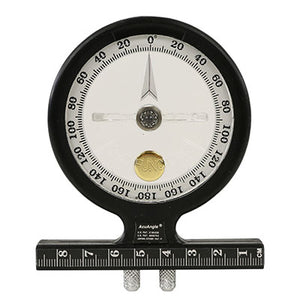 AcuAngle inclinometer with adjustable feet