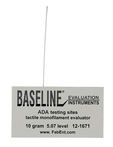 Disposable Baseline Tactile monofilament evaluator w/sleeve