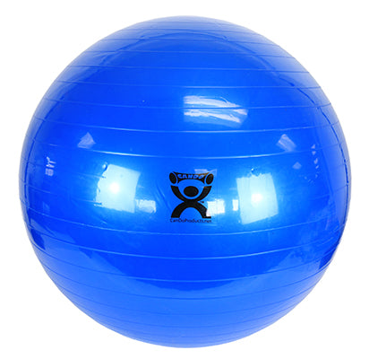 Inflatable Exercise Ball - Blue - 34