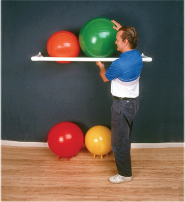 Wall rack (3 ball capacity) for molded inflatable balls