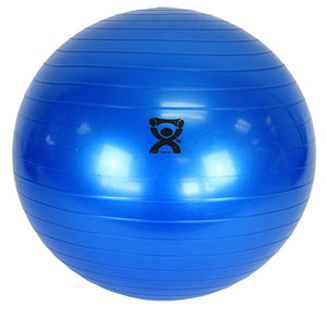 "Inflatable Exercise Ball - Blue - 42"" (105 cm)"