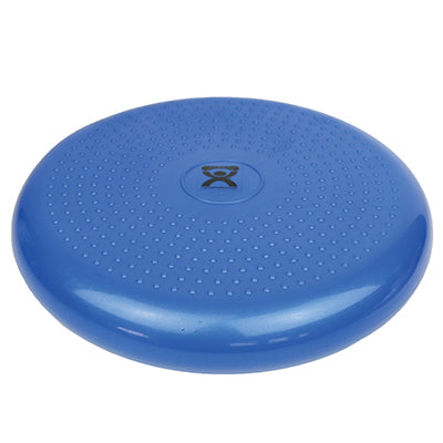 Inflatable vestibular seating/standing disc, blue
