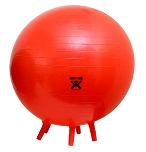 "75 cm (29.5"") feet-ball inflatable ball, red"