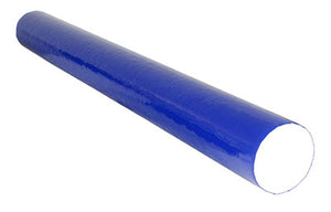 "PE foam, Blue TufCoat® Finish - 4"" x 36"" - Round"