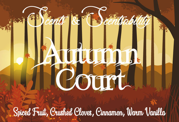 Autumn Court Wax Tart