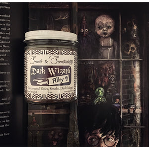 Dark Wizard Alley Candle