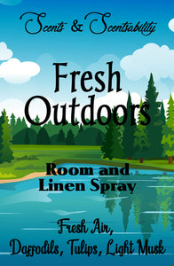 Fresh Outdoors Room Spray