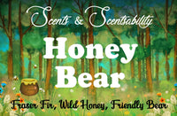 Honey Bear Wax Tart