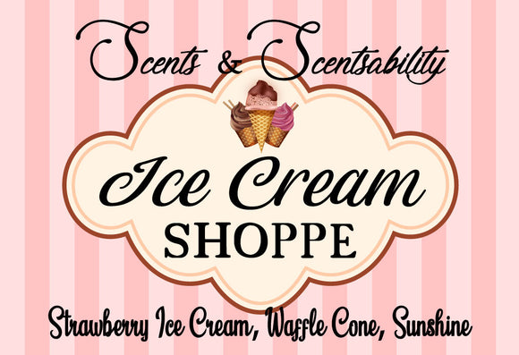 Ice Cream Shoppe Wax Tart
