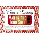 Man in the Iron Suit Candle