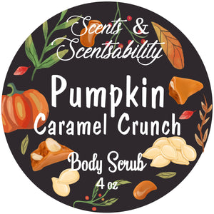 Pumpkin Caramel Crunch Body Scrub