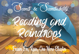 Reading and Raindrops Wax Tart