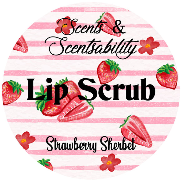 Strawberry Sherbet Lip Scrub