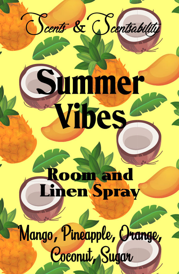 Summer Vibes Room Spray