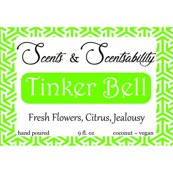 Tinker Bell Candle