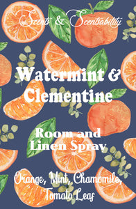 Watermint and Clementine Room Spray