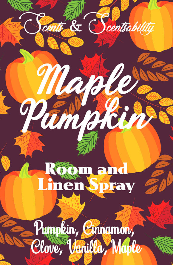 Maple Pumpkin Room Spray