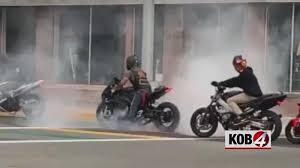 Bikers Vandalize Rainbow Crosswalks by Burning Rubber in New Mexico