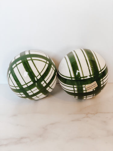 Ceramic Ball (Handpainted in Italy)