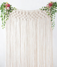 Load image into Gallery viewer, Macramé Curtain Panel