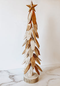 Standing Driftwood Christmas Tree