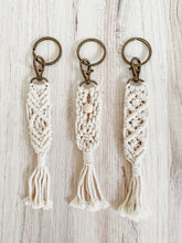 Load image into Gallery viewer, Macramé Key Chain