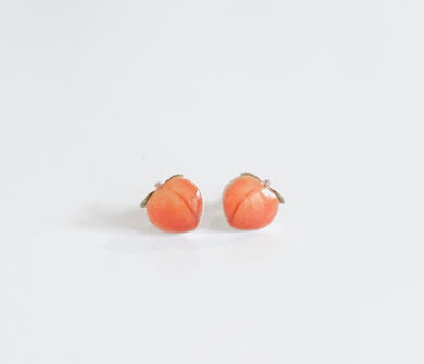 Peach Emoji Earrings