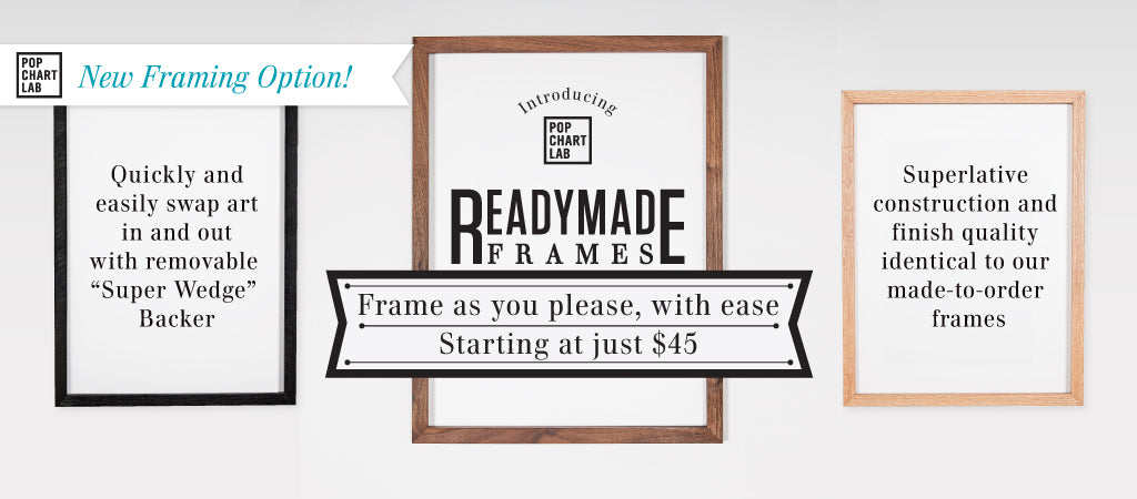 Professional-Quality Wood Frames. Amazing Price.