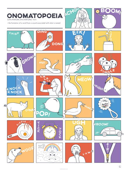Alphabet of Onomatopoeia