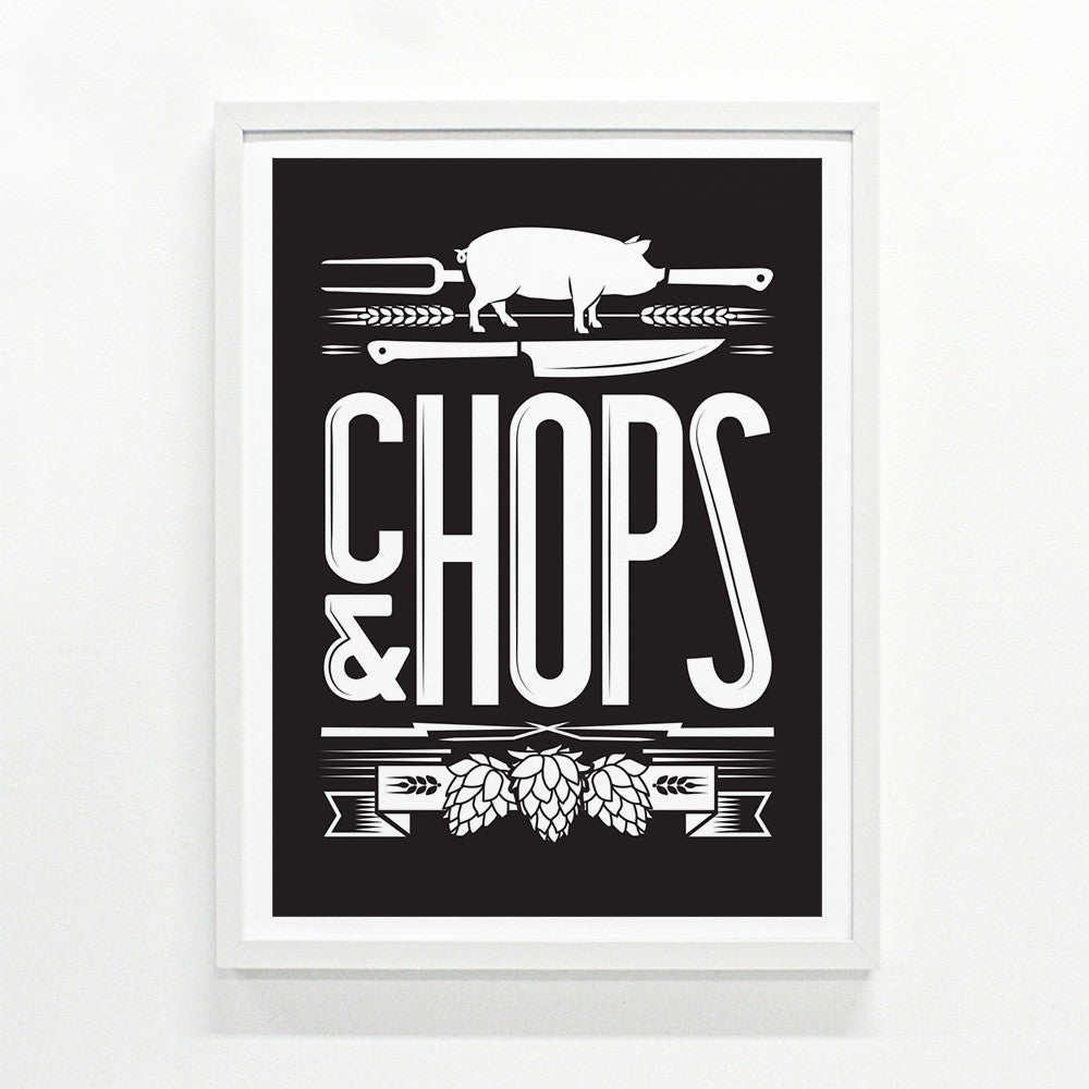 Chops and Hops Small Edition