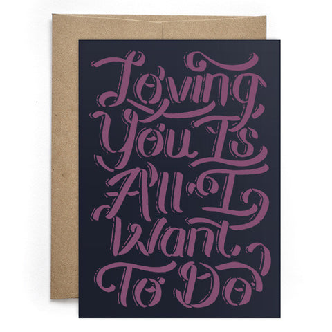 Loving You Card