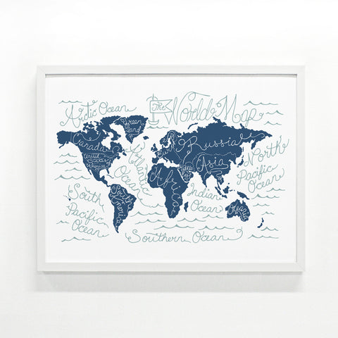 World Map Large Edition