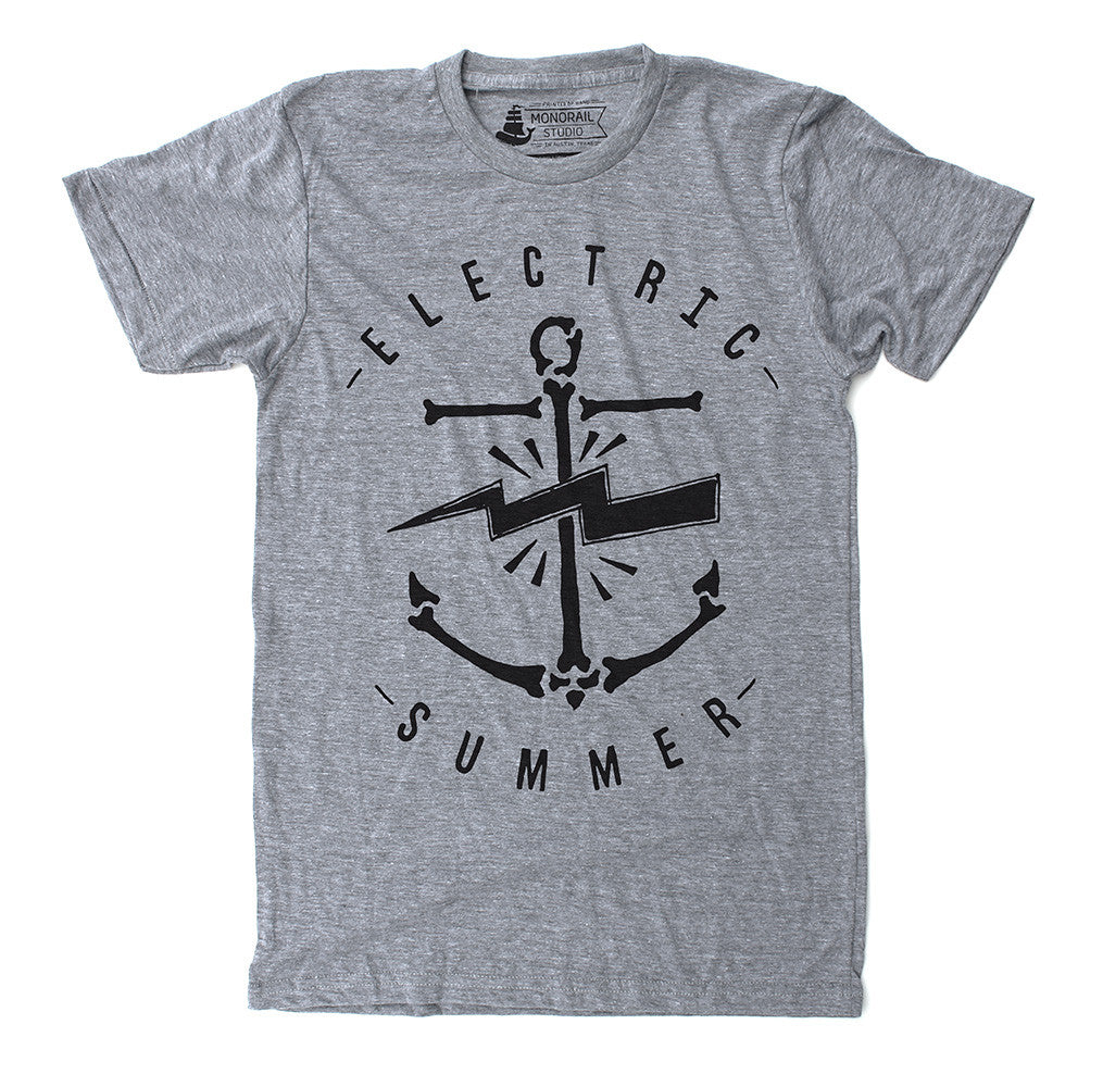 Electric Summer Grey Tee