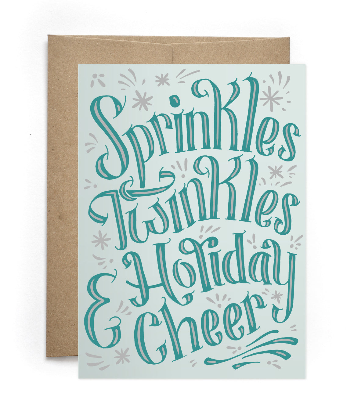 Sprinkles Holiday Greeting Card