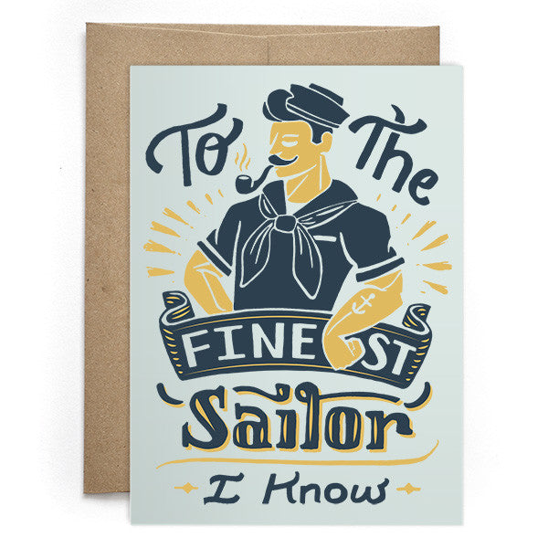 To The Finest Sailor Card