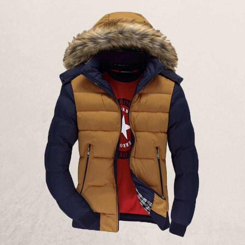 Ronald - Modieuze warme winter parka