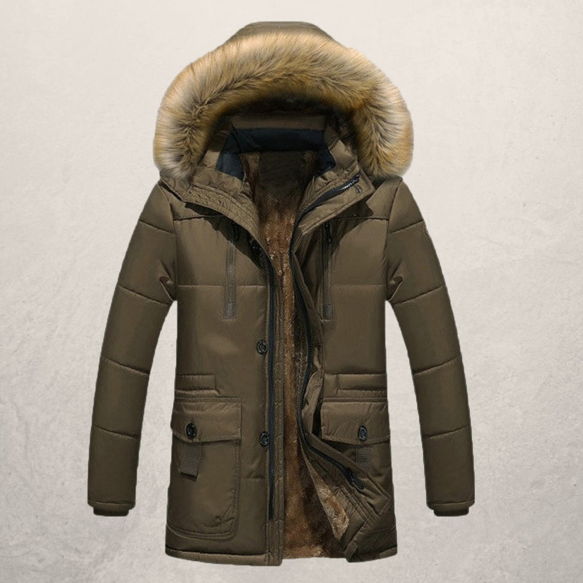 Humberto - Modieuze warme winter parka