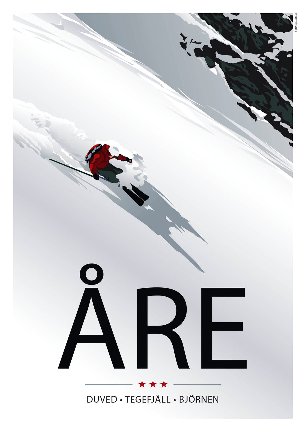 Poster A3 / Åre