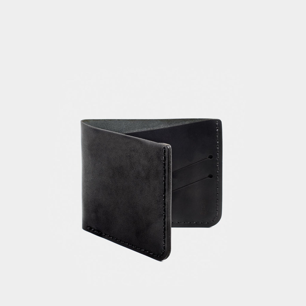 Billfold Wallet - Black Dublin