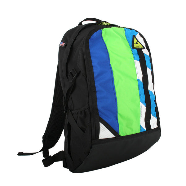 Green Guru Cyclopath Multi-Color Backpack