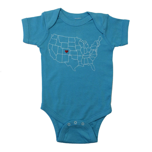 Love Colorado Infant One Piece