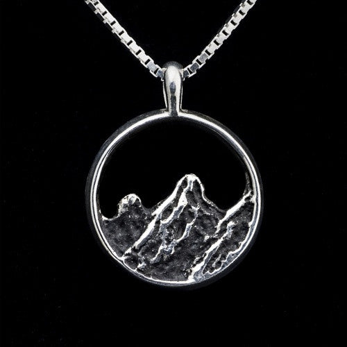Flatirons Pendant Sterling Silver