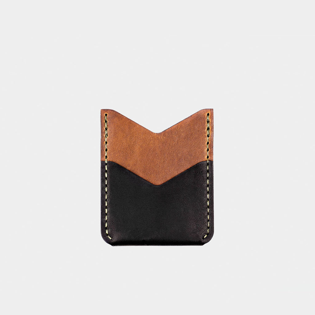 Slash Wallet - Tobacco/Black Dublin
